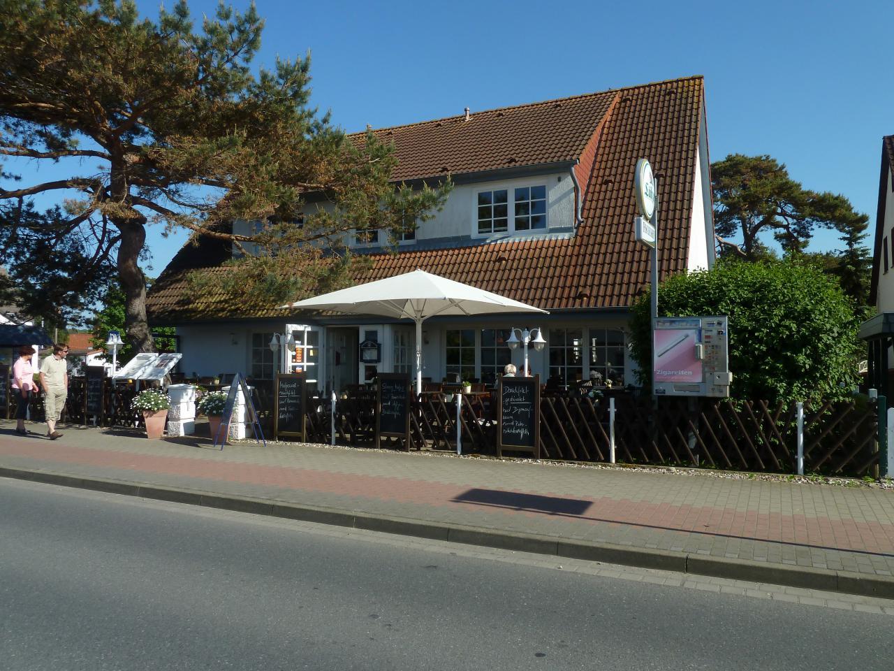 Das Restaurant Fischerhus in Glowe