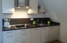 Die Küche im Appartement 1