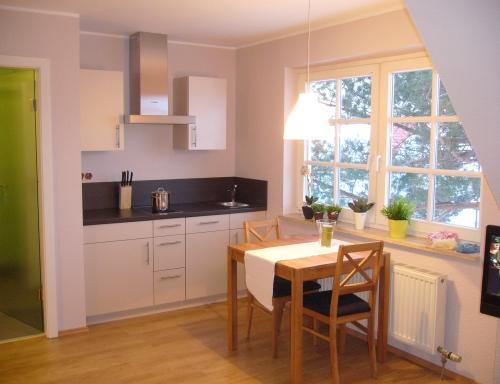Die Küche im Appartement