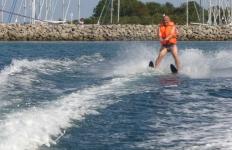 Wasserski fahren in Glowe
